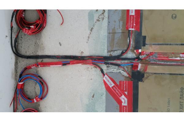 Монтаж на инфрачервено подово отопление Heat Life (г.София)