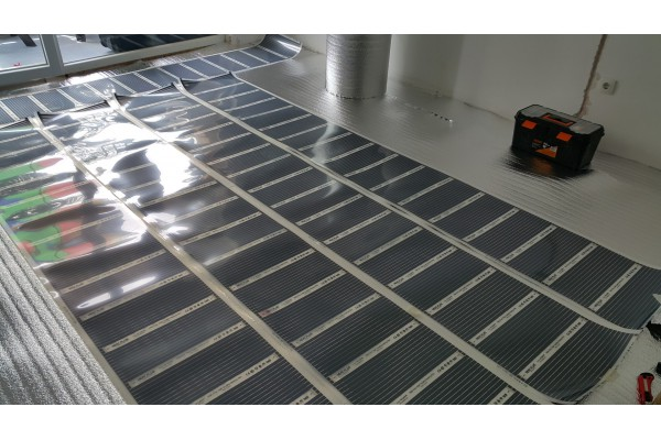 Подово отопление Heat Plus под ламиниран паркет Слънчев бряг