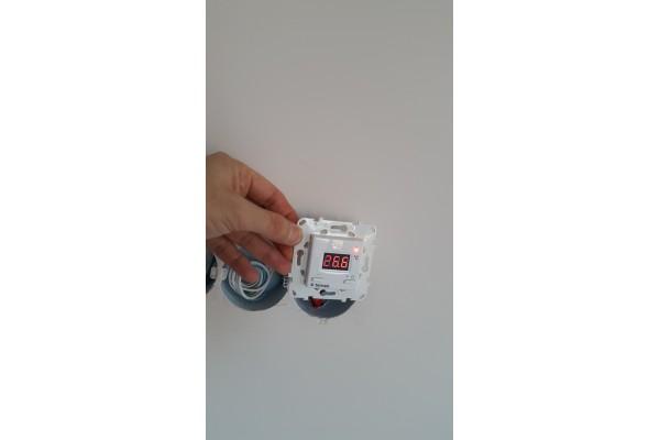 Инфрачервена отоплителна система HeatPlus в апартамент в град Поморие