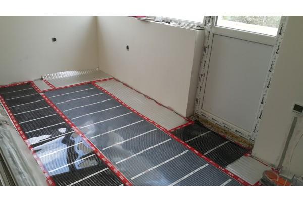 Икономично отопление на ток с отоплително фолио RexVa