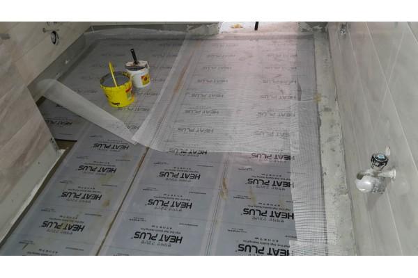 Монтаж на подово отопление в гр.Сандански