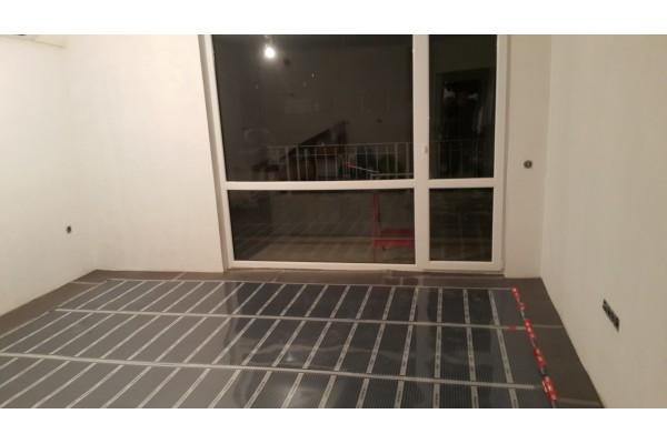 Инфрачервено подово отопление за ламинат
