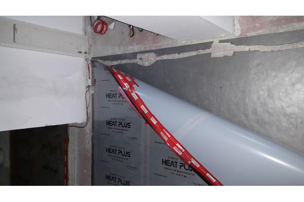 Монтаж на инфрачервено подово отопление Heat Plus (г.Велинград)