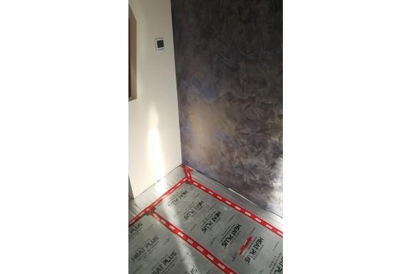 Монтаж на инфрачервено подово отопление в Банско