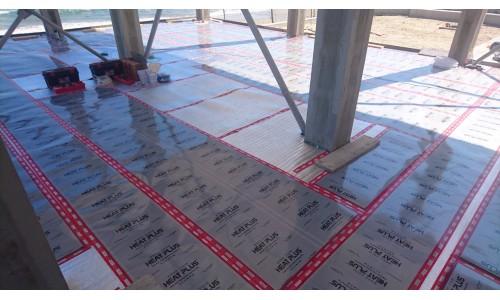 Инфрачервено подово отопление (в бетонна замазка)