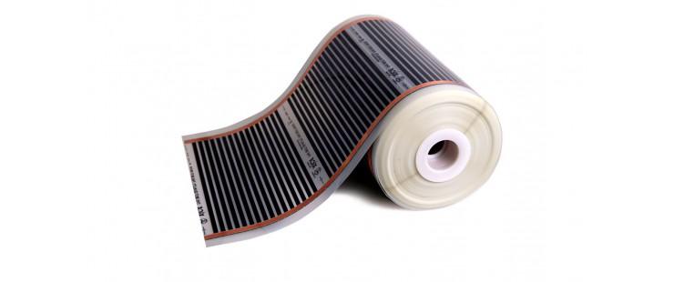 Инфрачервено отопително фолио XiCA (80см.) за подово отопление под ламинат.