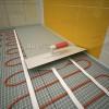Монтаж на подово отопление - отоплителните  рогозки WSM / ProfiMat