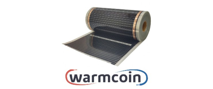 Инфрачервено отоплително фолио Warmcoin (50см.) за подово отопление.